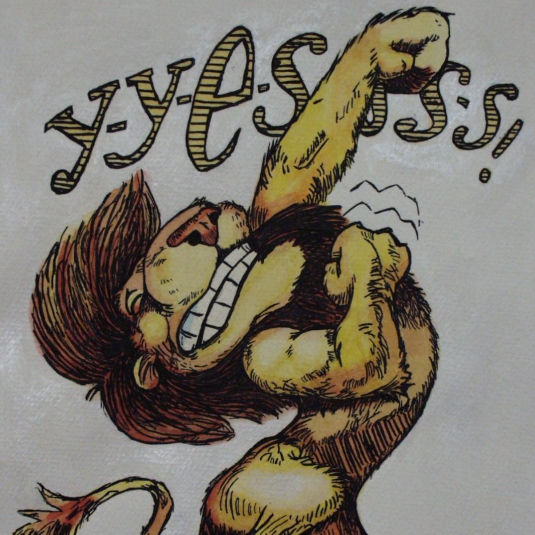 Josh Wilzyk, Lion comic