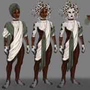 Mick Kaufer, Instructor, Medusa, Digital Costume Design