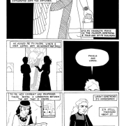 Lilliah Campagna, Instructor, Sumerian Comic Books?, Digital Black and White Comic Page