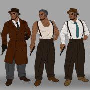 Mick Kaufer, Instructor, 1920s Gangster, Digital Clothing Design