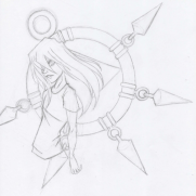 Lilliah Campagna, Instructor, Character Design, Age 15, Pencil on Paper