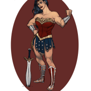 Mick Kaufer, Instructor, Wonder Woman, Age 18, Digital Character Design
