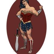 Mick Kaufer, Instructor, Wonder Woman, Age 18, Digital Character Design