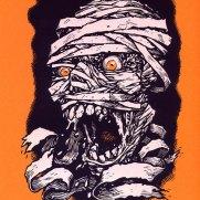 David Witt, Instructor, Angry Mummy, Screenprint
