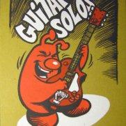 David Witt, Instructor, Guitar Solos, Screenprint