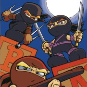 Matt Wendt, Baby Ninjas 2, Digital Painting