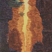 Sam Eiken, Age 15, Oil Painting on Canvas Board