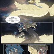Lilliah Campagna, Instructor, Graphic Novel Page 1, Digital Color Panel