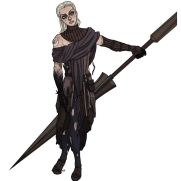 Mick Kaufer, Instructor, Female Warrior, Digital Character Study