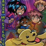 Becky Grutzik, Guest Instructor, Manga Mysteries - The Runaway Puppy, Book Cover