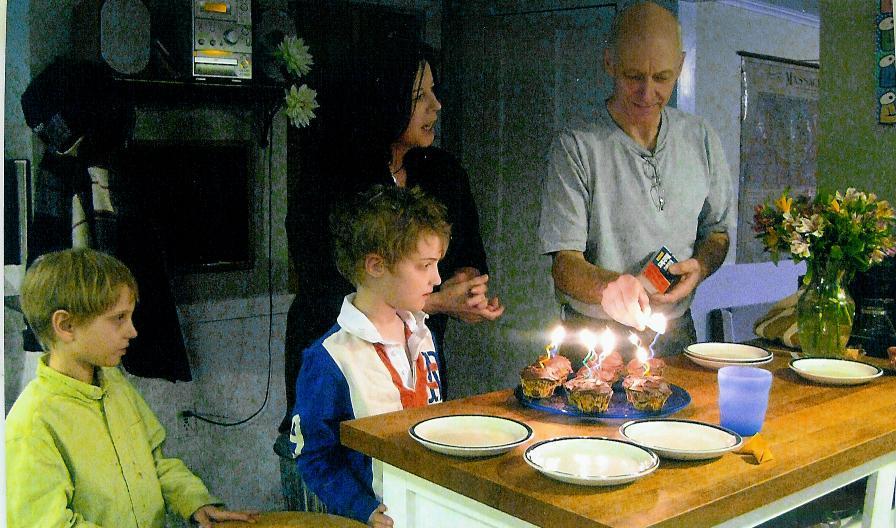 Preparing to make wishes!