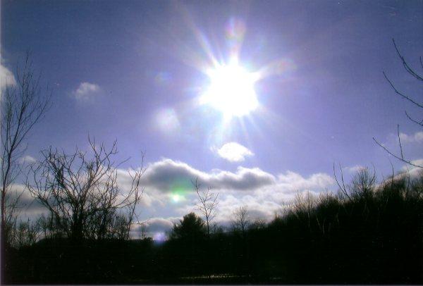 Lovely Berkshire sky by The Art Angel Bethann Shannon
