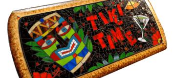 TIKI TIME COCKTAIL TABLE