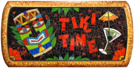 TIKI TIME PUB SIGN