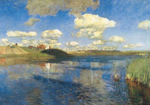 """Image of """"Lake. Rus."""" by Isaac Levitan."""