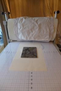 Ready to print on the brand-new, shiny Takach press