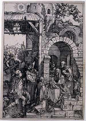 Adoration of the Magi Durer