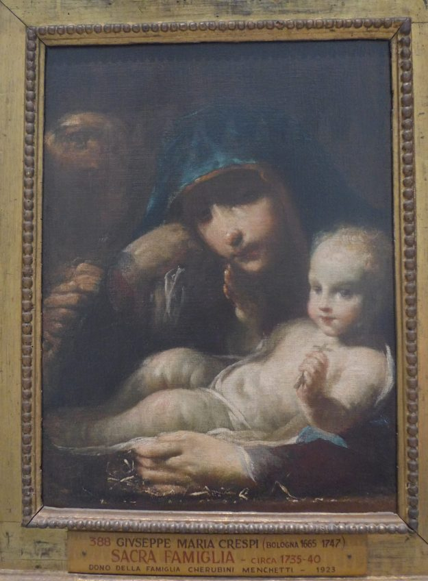 The Holy Family by Guiseppe Maria Crespi