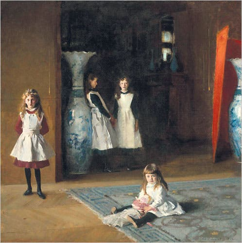 The Daughters of Edward Darley Boit, John Singer Sargent, 1882, NYTimes image