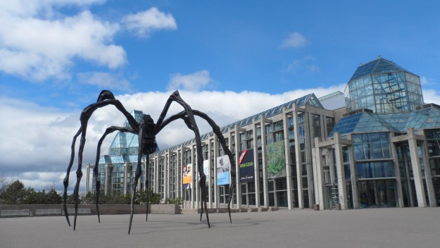 Maman, Louise Bourgeois, 1999 National Gallery of Canada image