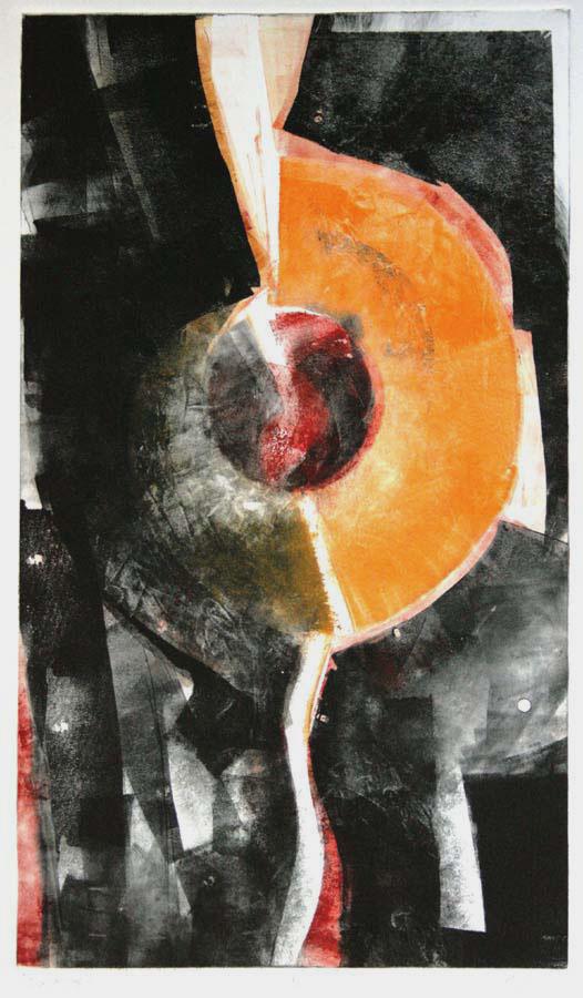 Discovery, Frank Mikuska, monoprint, 2007
