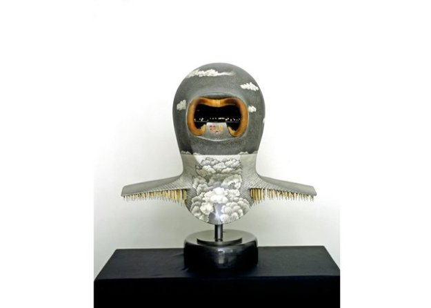 Night Landing Mask, Don Proch, 1982, Collection of the Winnipeg Art Gallery, galleries west.ca image