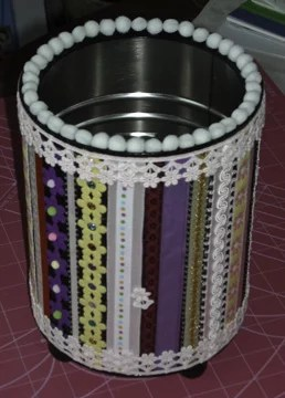 coffee can crafts ideas recycled coffee cans the artful crafter 3670