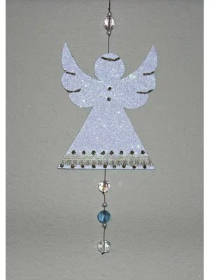 beaded angel ornament instructions
