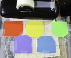 Donation Can: How to Print onto Different Colored Vinyl in One Pass