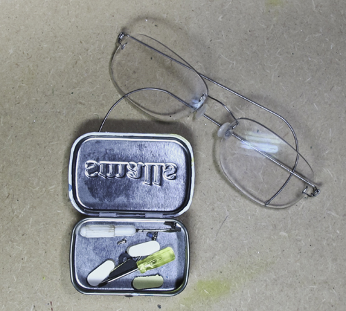 Altoid Tin Eyeglass Repair Kit Kit for Tiny Things - The ...