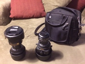 DIY double-ended rear lens caps allow pairs of lenses to be stacked.