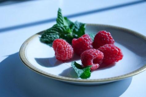 Gorgeous Raspberries & Light
