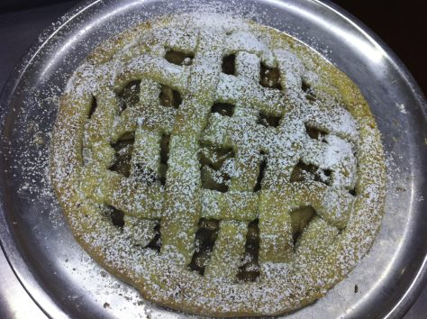 Italian Free Form Apple Tart