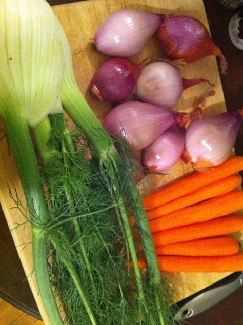 Fennel-Carrots-Shallots