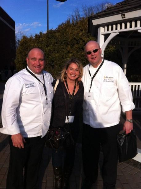 Kristen with Chefs
