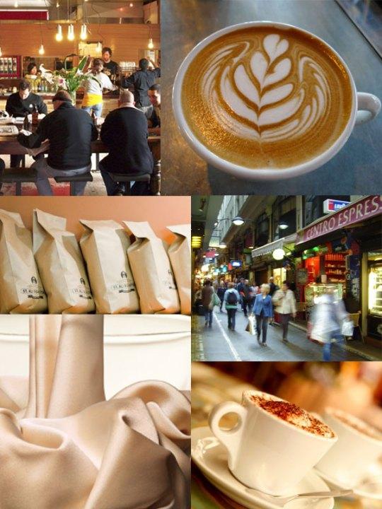 Melbourne coffee shops