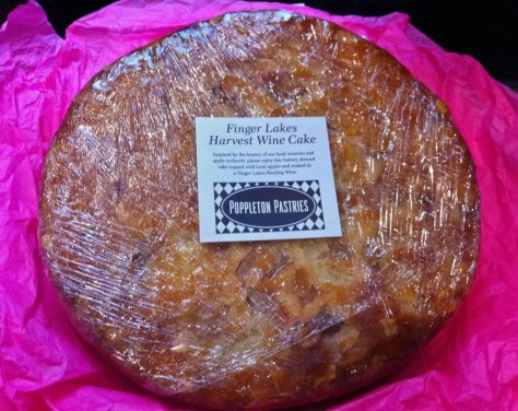 Finger Lakes Harvest Wine Cake