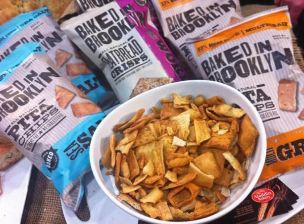 Baked in Brooklyn Pita Chips & Flatbread Crisps