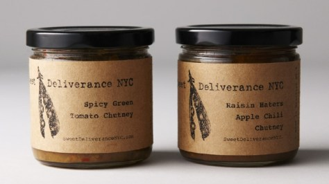 Sweet Deliverance Chutney Duo