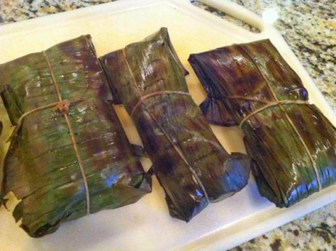 Grilled Banana Leaves