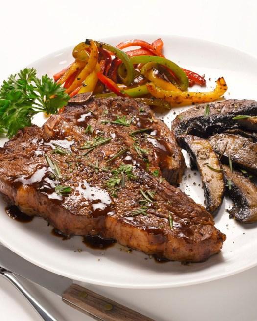 Roasted Garlic Rosemary Steak
