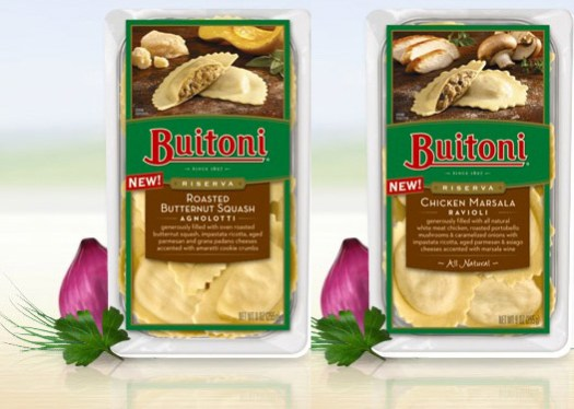 Buitoni New Pasta Flavors