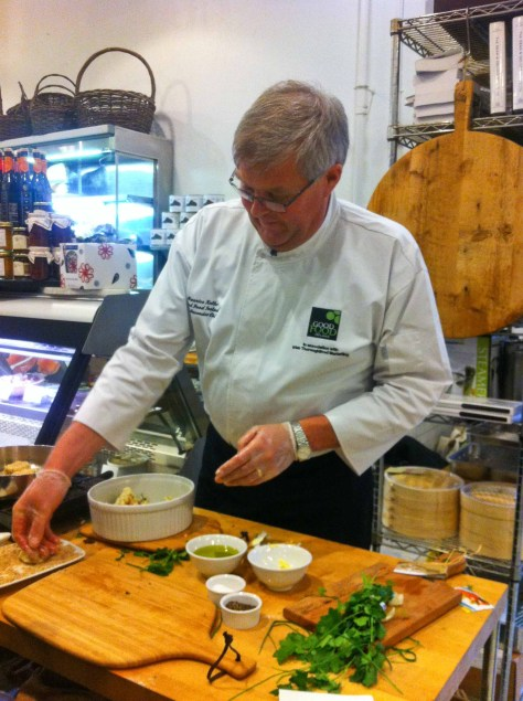 Chef Maurice Keller
