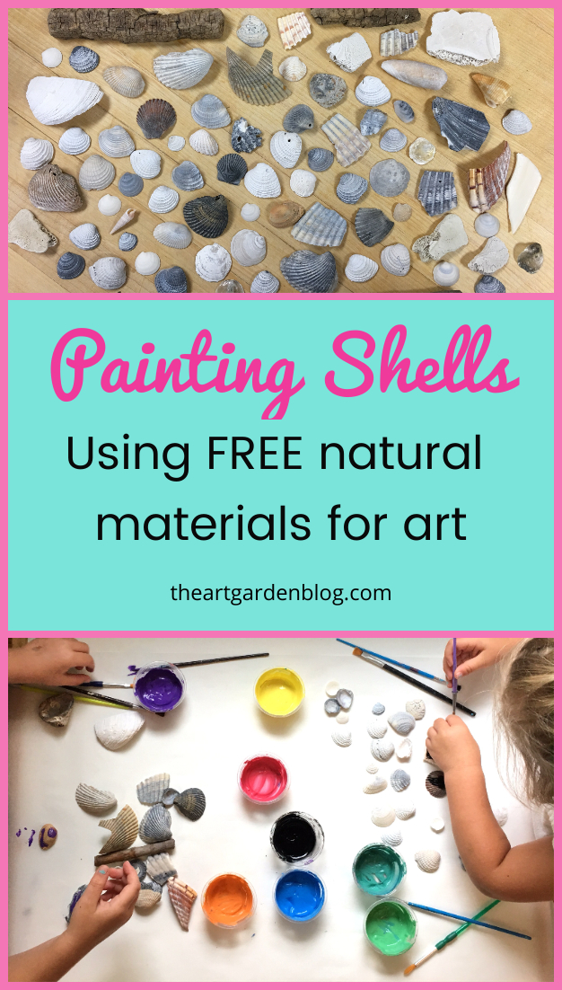 painting shells