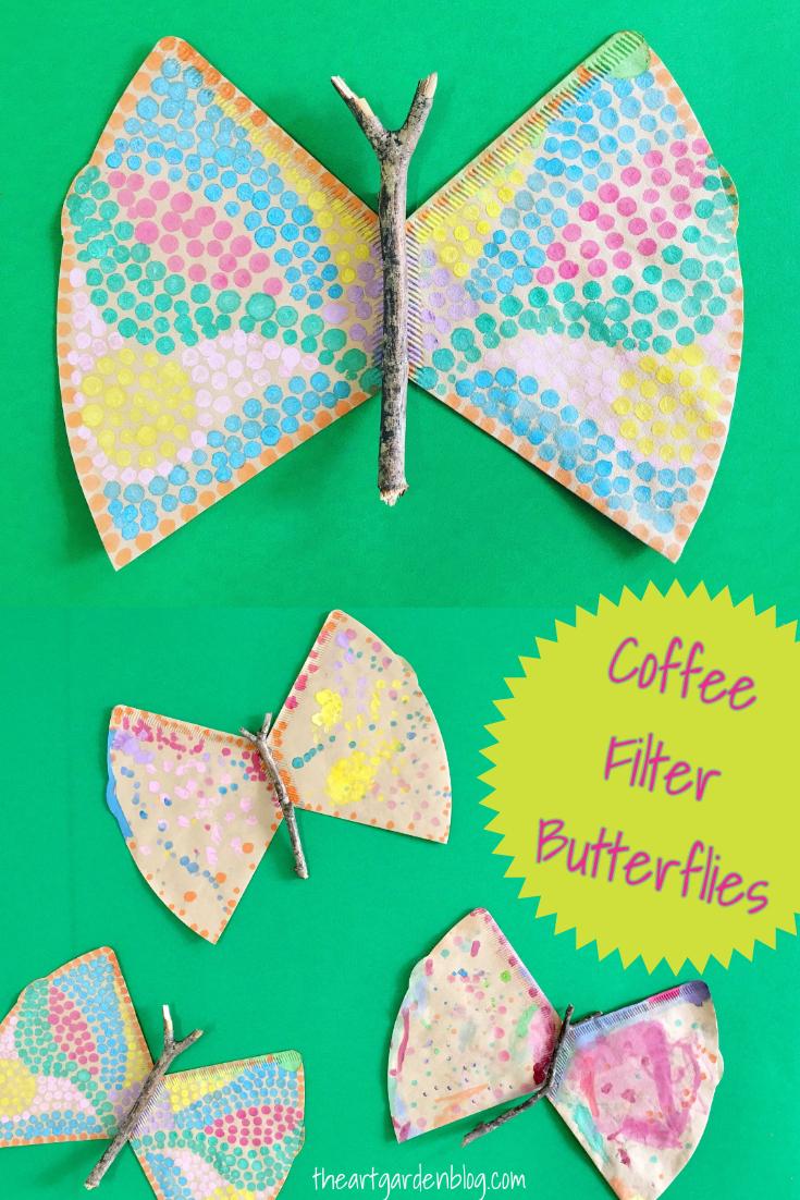 coffeefilterbutterflies
