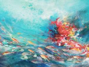 Fish Highway by Elena Marin