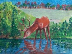 As the Deer Pants for Water by Loran Tsang