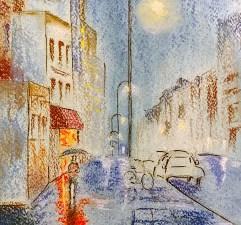 Walk in the Rain by Loran Tsang