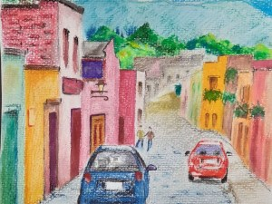 An Old Town by Loran Tsang