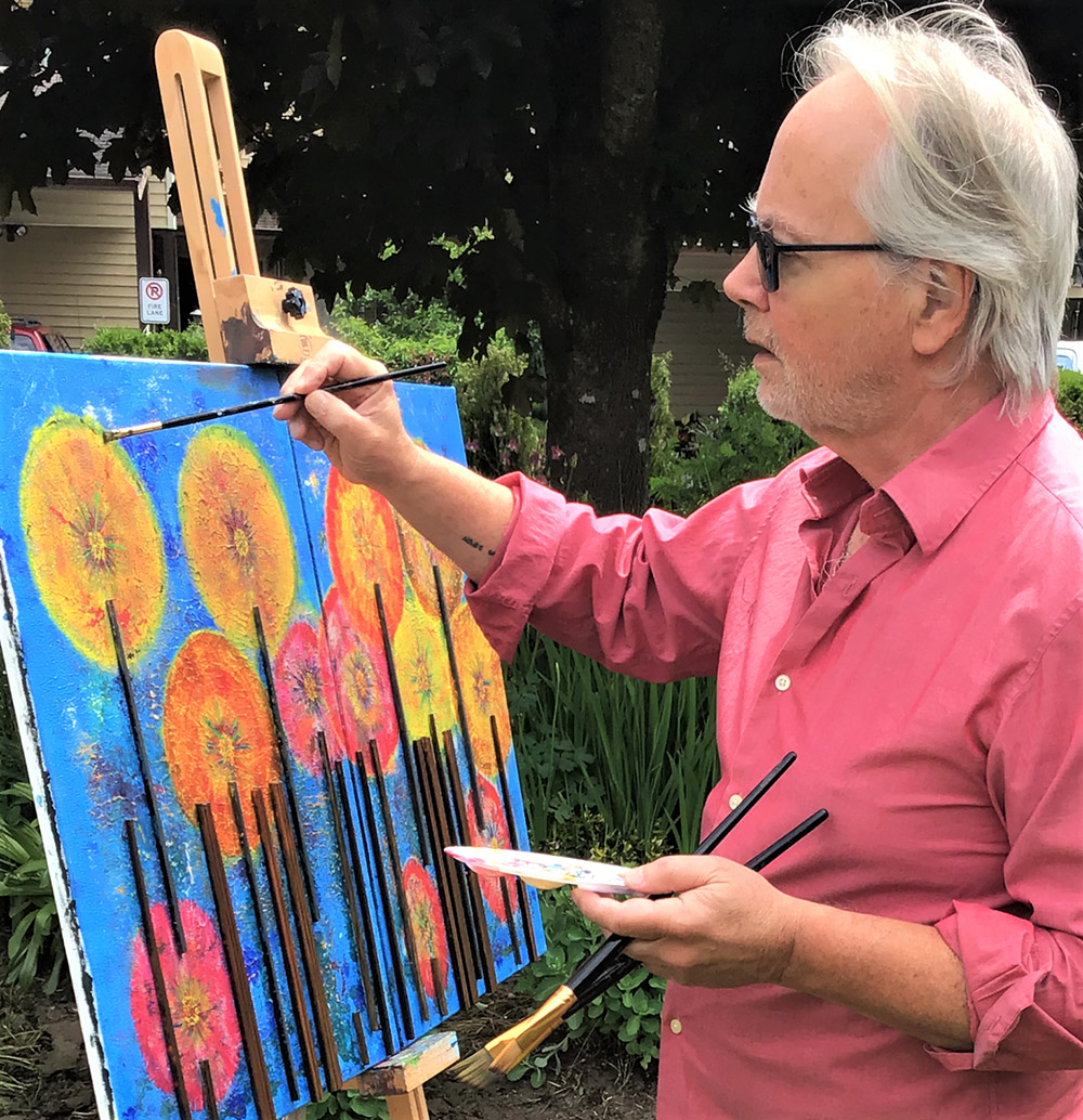 Ted DeMarsh Painting